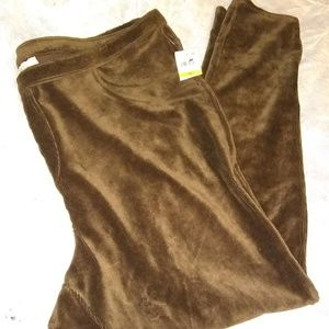 Style & Co Brown Corduroy Leggings 3x